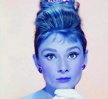 Audrey Hepburn in  Breakfast at Tiffany's by Art Cinema Gallery