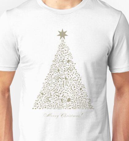 Musical Christmas tree Unisex T-Shirt