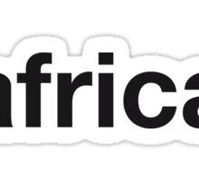 AFRICAN Sticker