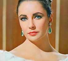 Elizabeth Taylor in The V.I.P.s. by Art Cinema Gallery