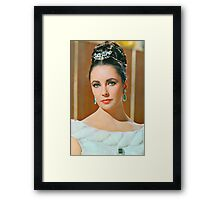Elizabeth Taylor in The V.I.P.s. Framed Print