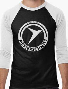 Messerschmitt Aircraft Company Logo (White) Men's Baseball ¾ T-Shirt
