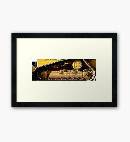 Cat Gears Framed Print
