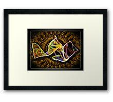 ©DA Veil Of Plasma II Framed Print