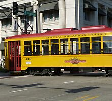Arkansas Cable Car by WildestArt