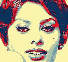 Sophia Loren by Art Cinema Gallery