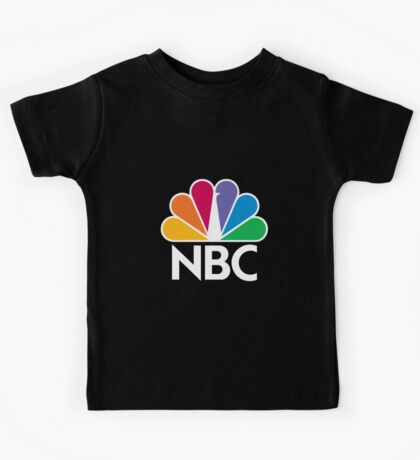 NBC Logo - White Kids Tee