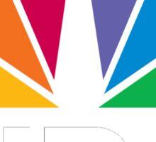 NBC Logo - White Sticker