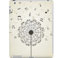Music a dandelion iPad Case/Skin