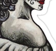 Sugar Skull Sweetheart Sticker