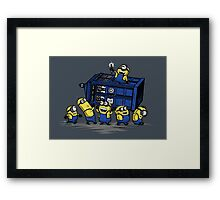 The Minions Have The Phone Box Framed Print