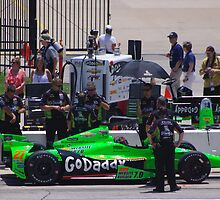 Indycar Firestone 550 - Texas Motor Speedway - #27 James Hinchcliffe (CAN) - Go Daddy Chevrolet by motapics