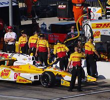Indycar Firestone 550 - Texas Motor Speedway - #1 Ryan Hunter Reay (USA) - DHL Chevrolet by motapics