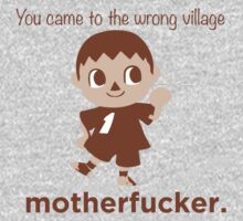 Villager Means Business - Smash Bros/ Animal Crossing by lindseyyo