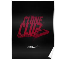 Clone Club logo Poster