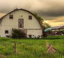 Old Farm Yard by Keri Harrish