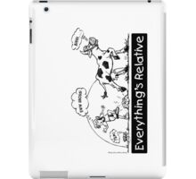 Everything is Relative iPad Case/Skin