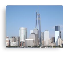The New World Trade Center is Now the Tallest Building in the Western Hemisphere, New York City Canvas Print