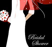 bridal shower invitations by maydaze
