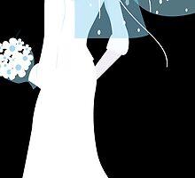 blue bride by maydaze