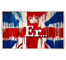 """""""Er..."""" by Banksy  Photographic Print"""