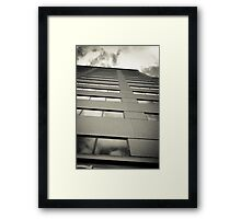 Looking Up. Framed Print
