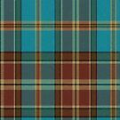 02845 Niagara County, New York E-fficial Fashion Tartan Fabric Print Iphone Case by Detnecs2013