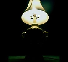 White Vintage Table Lamp  by © Sophie W. Smith