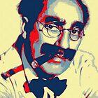 Groucho Marx by Art Cinema Gallery