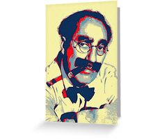 Groucho Marx Greeting Card