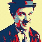 Charles Chaplin Charlot by Art Cinema Gallery