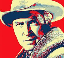 James Stewart in The Far Country by Art Cinema Gallery