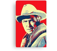 James Stewart in The Far Country Canvas Print