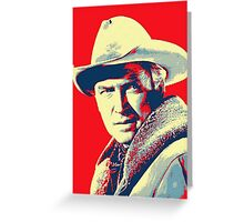 James Stewart in The Far Country Greeting Card