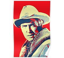 James Stewart in The Far Country Poster