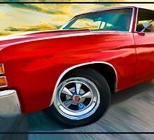 "'71 Chevelle - ""Busting in on the Scene"" by YepGraphix"