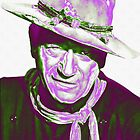 John Wayne in The Man Who Shot Liberty Valance by Art Cinema Gallery