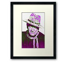 John Wayne in The Man Who Shot Liberty Valance Framed Print