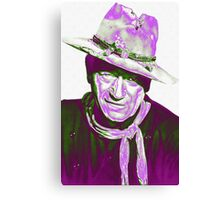 John Wayne in The Man Who Shot Liberty Valance Canvas Print