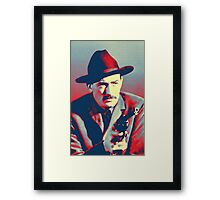 Gregory Peck in The Gunfighter Framed Print