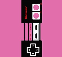 Pink NES Controller iPhone Case by lancheney007