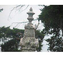 Headstone Top Photographic Print