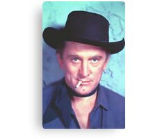 Kirk Douglas in Man Without a Star Canvas Print