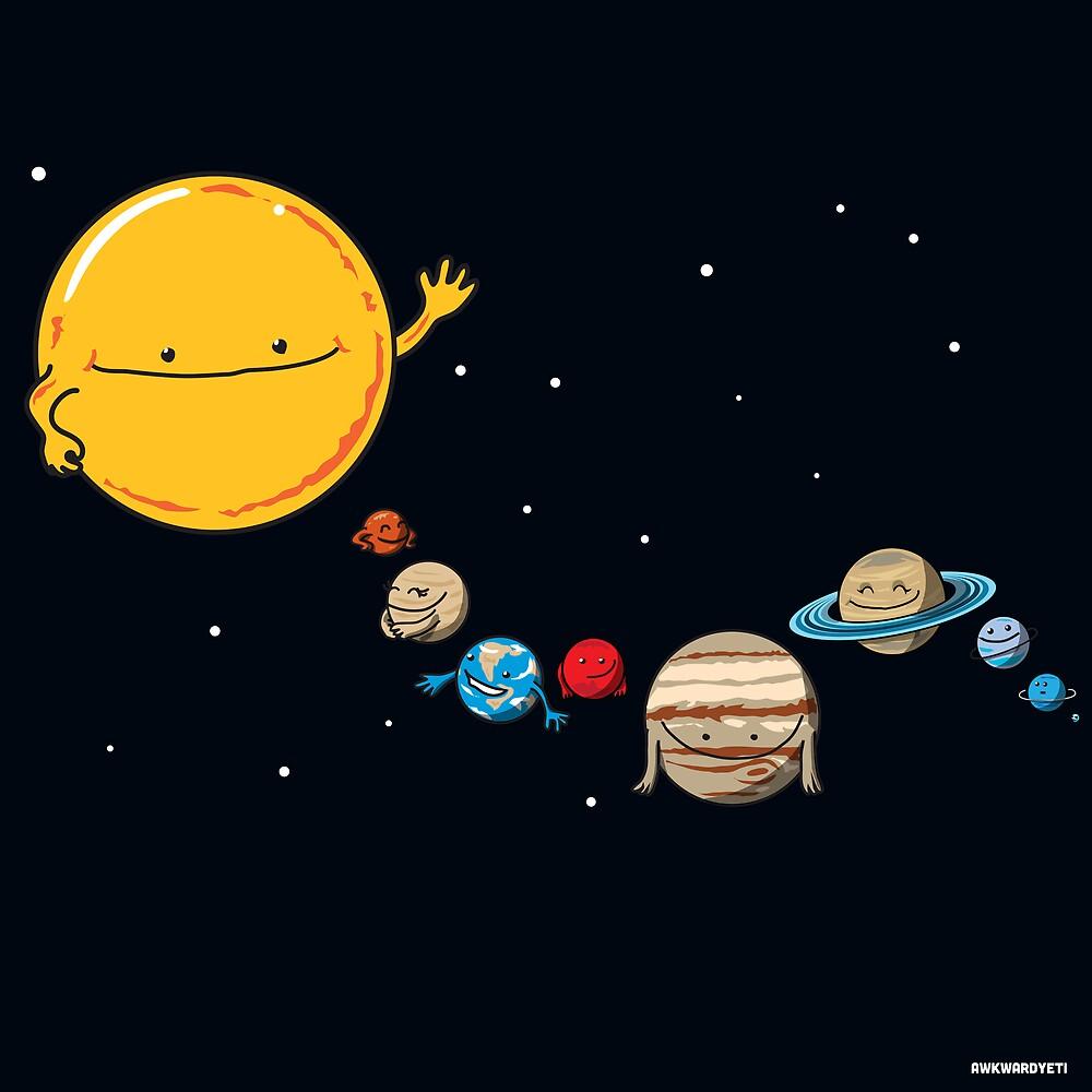 The Planets by theawkwardyeti