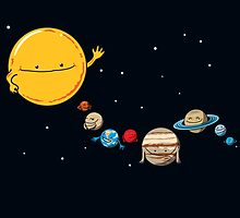 The Planets by theawkwardyeti