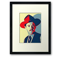 Henry Fonda in My Darling Clementine Framed Print