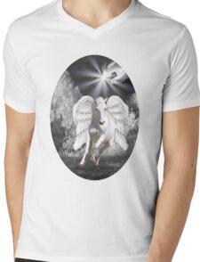 ღ♥¸¸.•* ANGELIC HORSE TEE SHIRT ღ♥¸¸.•* Mens V-Neck T-Shirt