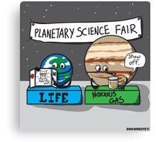 Planetary Science Fair Canvas Print