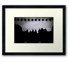 Dark Woods Framed Print