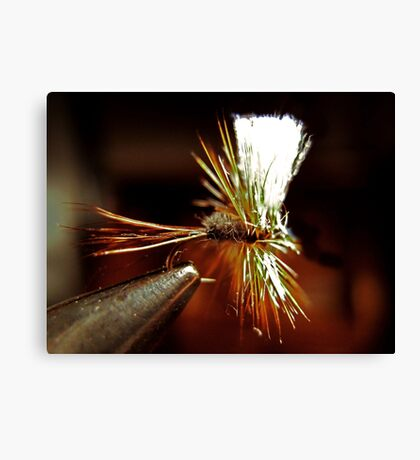 Hairwing Adams Dry Fly Canvas Print